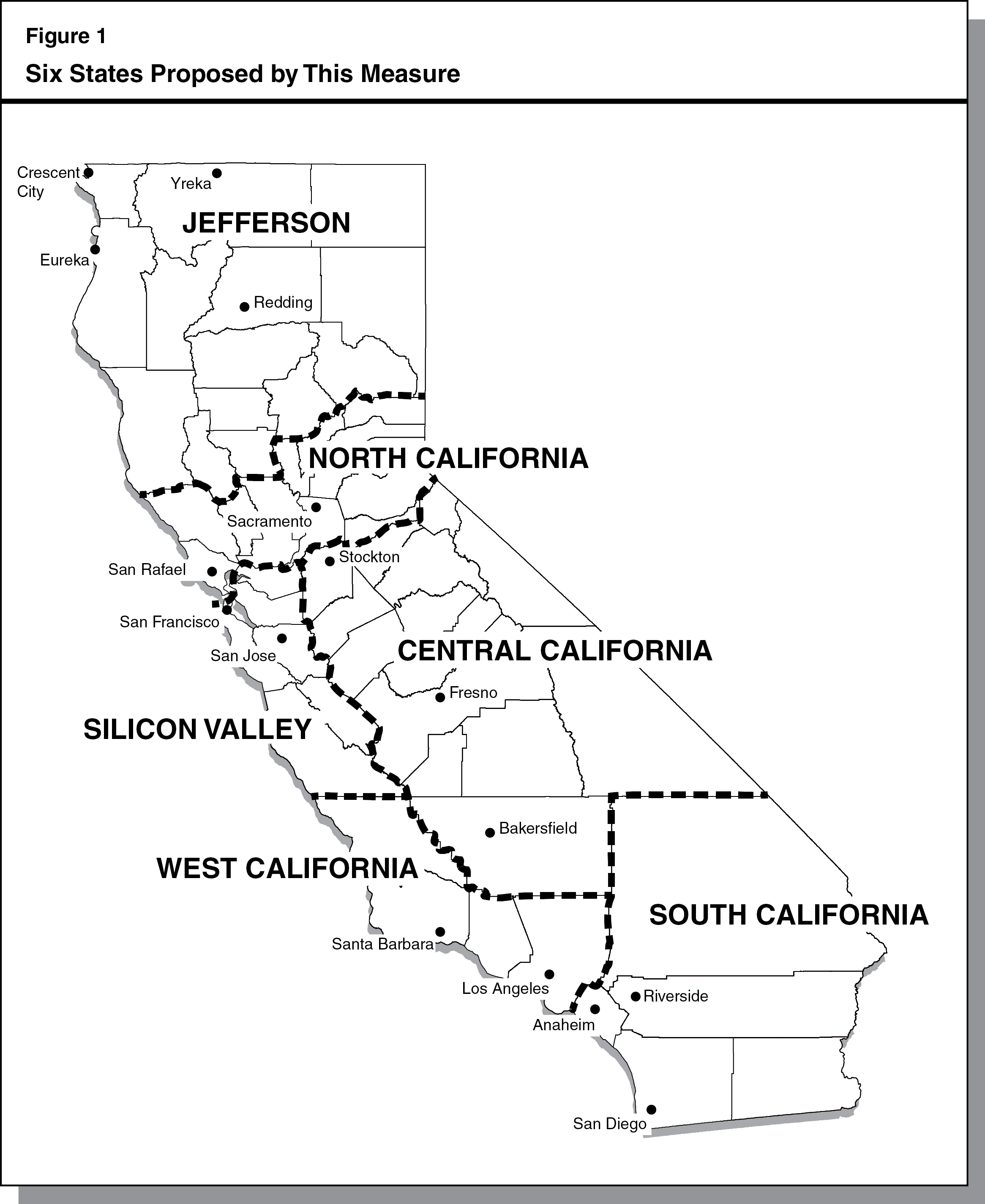 2013 Initiative Analysis Six Californias