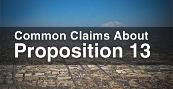 Common Claims About Proposition 13