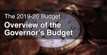 Image - The 2019-20 Budget: Overview of the Governor's Budget