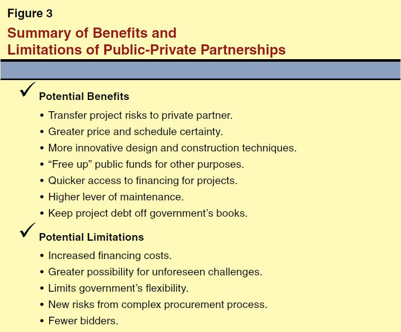 Maximizing State Benefits From Publicprivate Partnerships