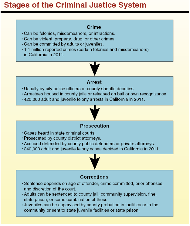 Components Of The Criminal Justice System Essay