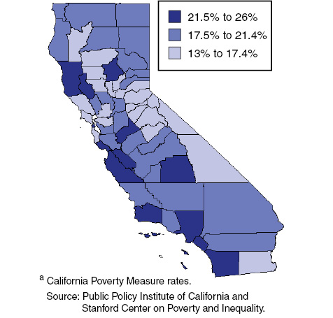 Poverty Varies Across Counties, Driven in Part by Housing Costs