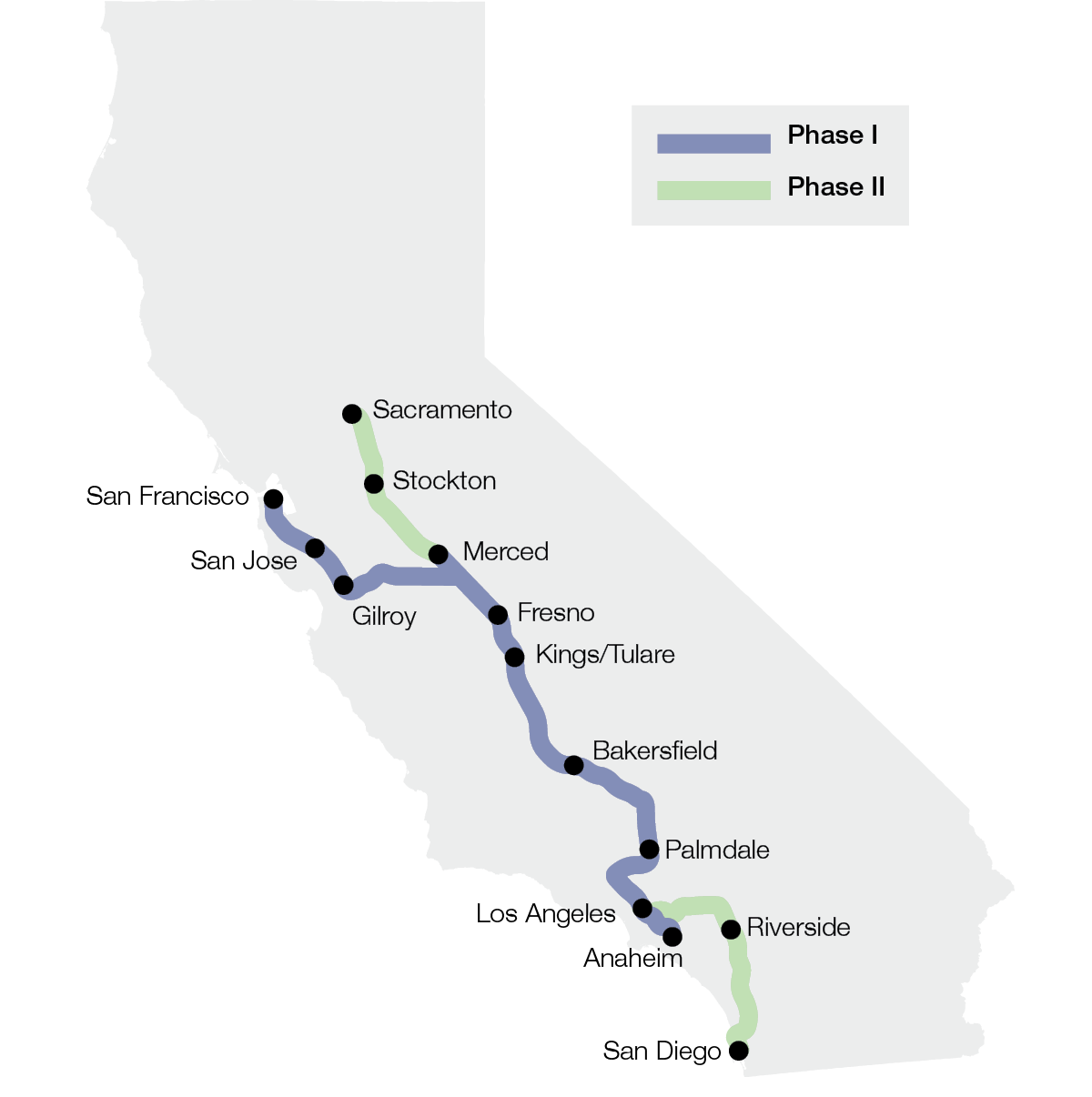 Figure: High-Speed Rail Project Began Construction in 2015